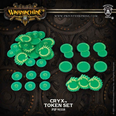 WARMACHINE Cryx Faction Tokens 2016