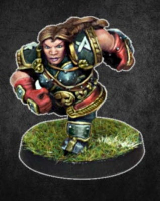 Dwarf Female Star Player