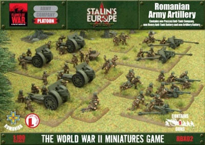 Romanian Army Artillery
