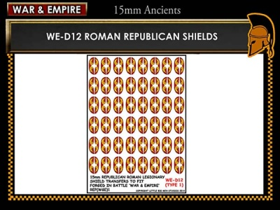 Republican Roman large oval shields