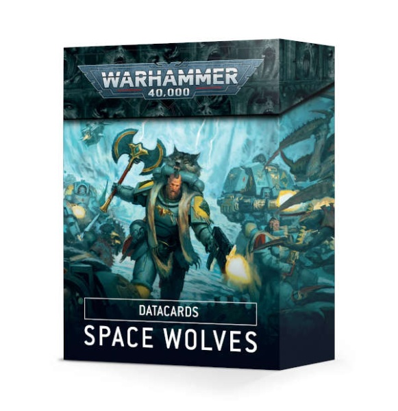 Datakarten: Space Wolves