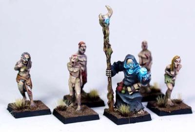 Necromancer with Zombies (6)