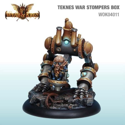 Teknes War Stompers Box