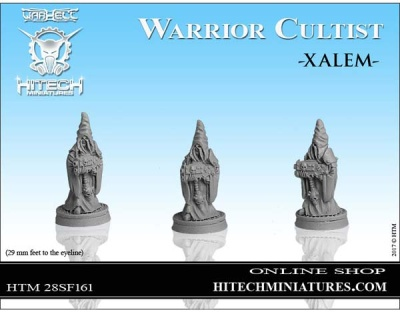 28mm  Warrior Cultist Xalem