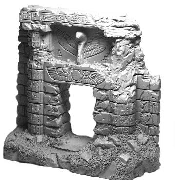 Ägyptische Ruine
