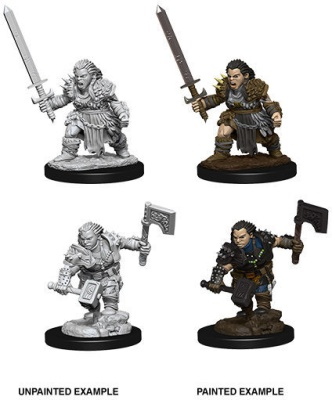 Pathfinder: Female Dwarf Barbarian (2)