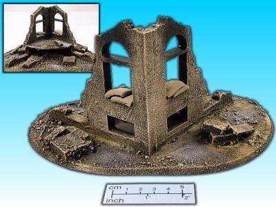 Geländestück Ruine II