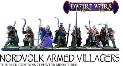 Armed Nordvolk Villagers (10)
