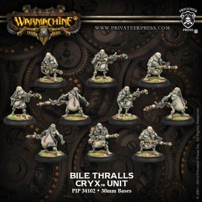 Cryx Bile Thralls Unit Box (10)