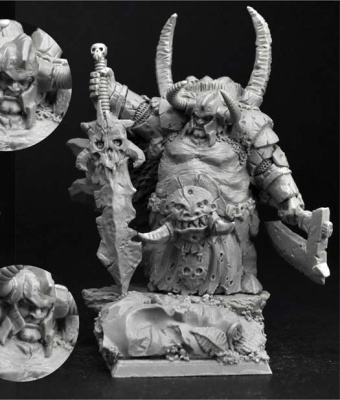 28mm Ogre Chief #6