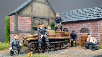 Deutsche Panzerbesatzung Set II (5)