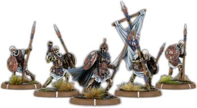 The Dead of Black Barrow, Wihtgar Command Unit (5x) (OOP)