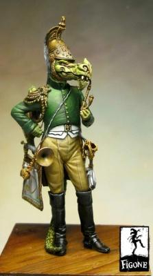 Officier dragon de la garde