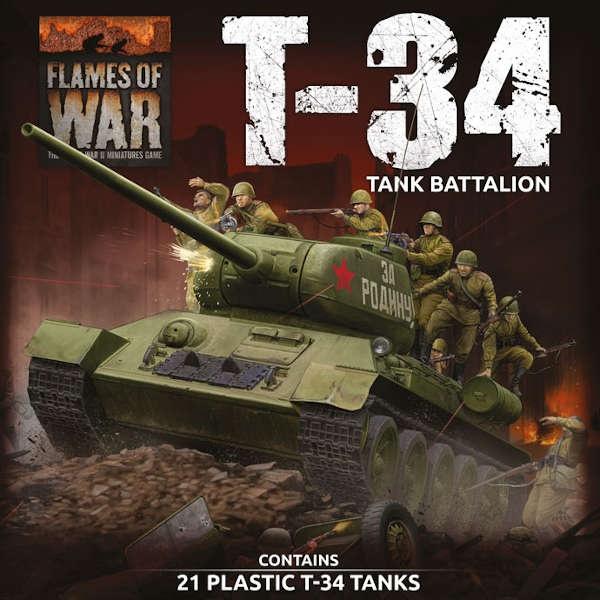 Soviet LW T-34 Army Deal (Plastic)
