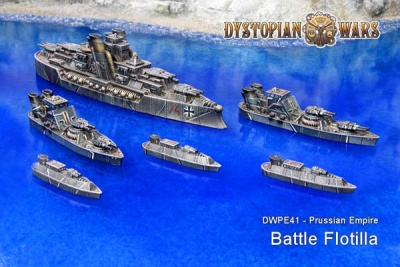 Prussian Empire Battle Flotilla (6)