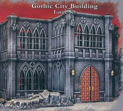 Gothic City Building Large Set