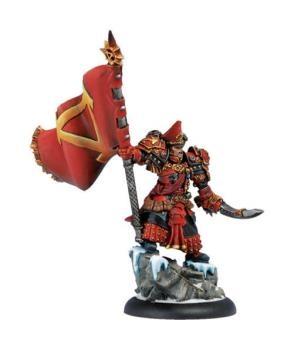 Khador Epic Warcaster Supreme Kommandant Irusk