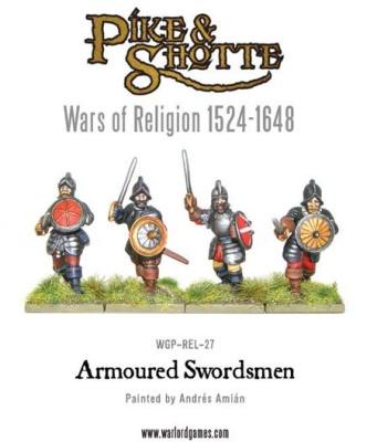 Armoured Swordsmen (Wars of Religion) (8)