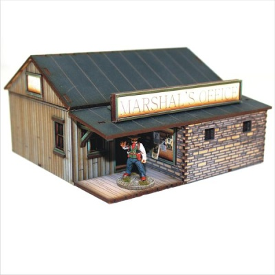 DMH Feature Building 1: Marshall's Office
