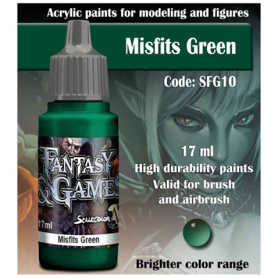 Scalecolor Fantasy 10 Misfits Green (17ml)