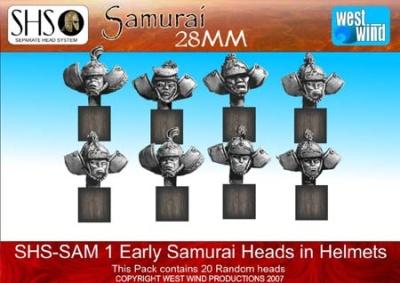 Early Samurai Helmets (20 Heads)