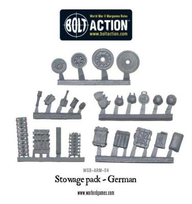 Stowage pack - German