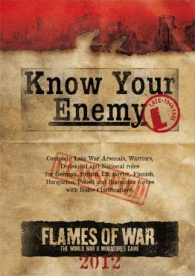 Know Your Enemy: 2012 Late War Edition