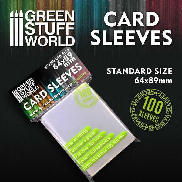 Card Sleeves - Standard 64x89mm