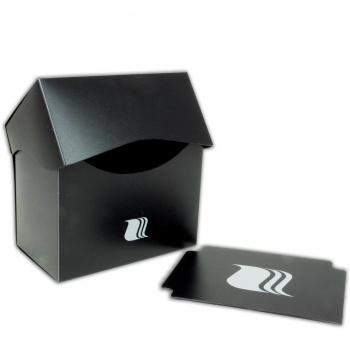 Blackfire Deck Holder Horizontal - for 80+ Cards - Black