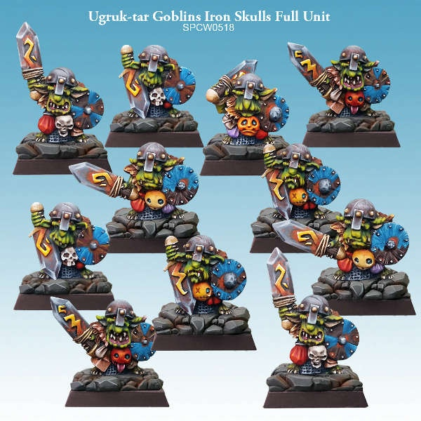 Ugruk-tar Goblins Iron Skulls Full Unit (12)