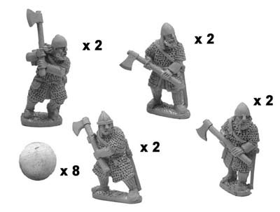 Varangian axemen in full armour (8)