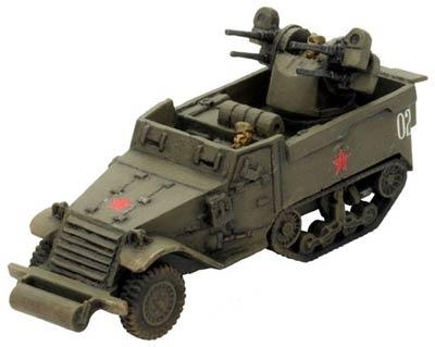 ZSU Lend Lease M17 MGMC
