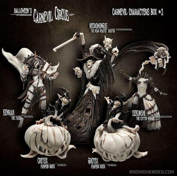 Carnevil Characters Box #2 (CC - F)