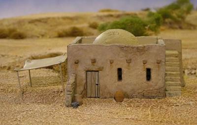 Mud-Brick House