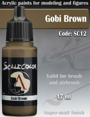 Scalecolor 12 Gobi Brown (17ml)