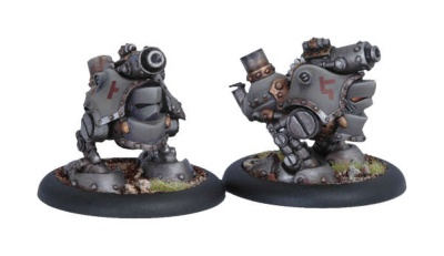 Mercenary Grundback Gunner Rhulic Light Warjacks (2)