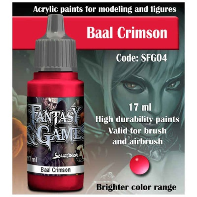 Scalecolor Fantasy 04 Baal Crimson (17ml)