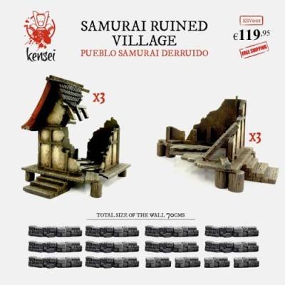 Ruined Samurai Village