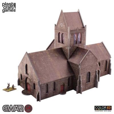 15mm: Saint-Mère-Église Church - ColorEd
