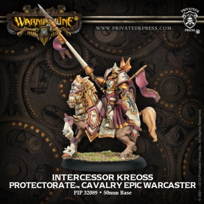 Protectorate Epic Warcaster - Intercessor Kreoss