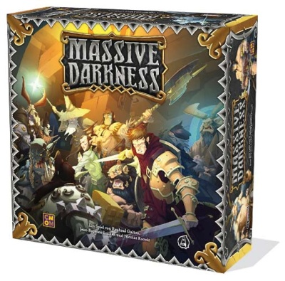 Massive Darkness - Grundspiel  DEUTSCH