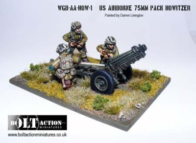 Bolt Action US AB 75mm Pack Howitzer