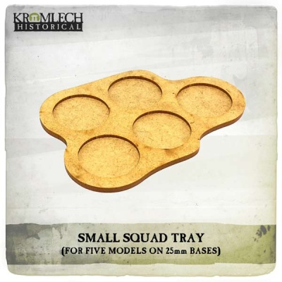 Small Squad Tray (5 models on 25mm bases) (3)