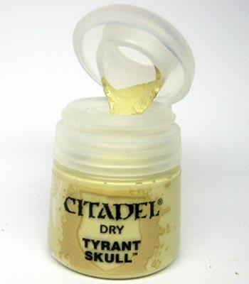Tyrant Skull (Dry)