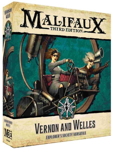 Malifaux (M3E): Vernon and Welles
