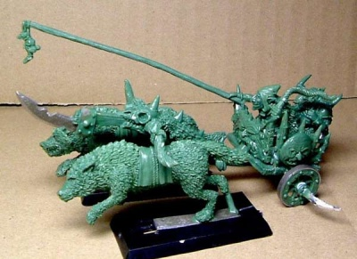 Hill Goblins Chariot + Driver