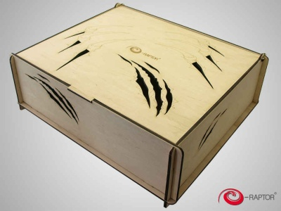 Board Game Trading Card Storage Big Box - Claws