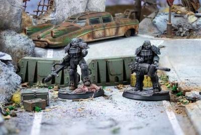 Fallout: Wasteland Warfare - Enclave: Hellfire Set