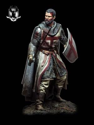 Templar Knight, XII Century (54mm)
