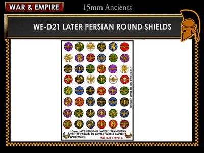Late Persian shields